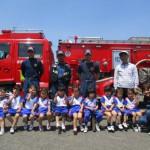 消防車来園1